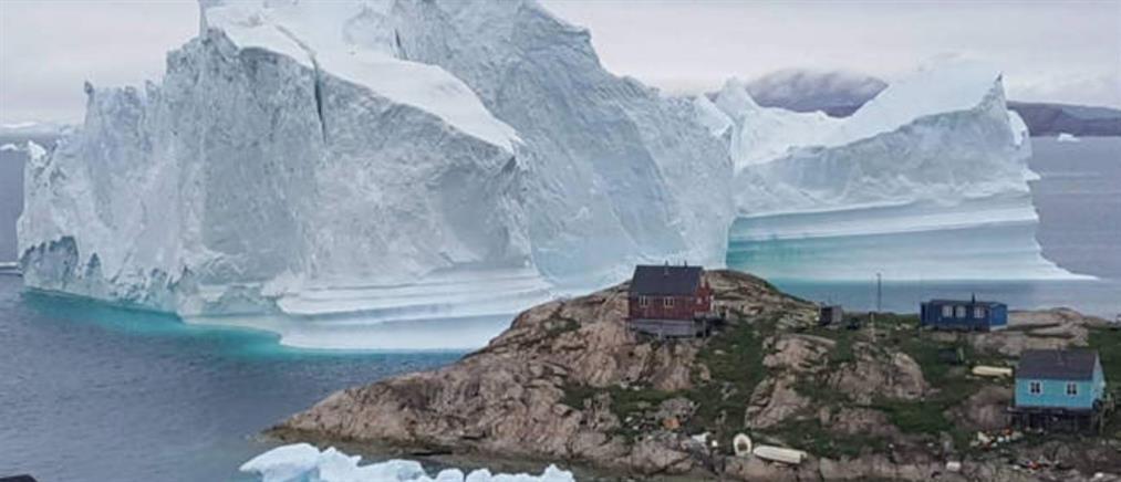 Γροιλανδία: σε μία ημέρα έλιωσαν δισεκατομμύρια τόνοι πάγου (εικόνα)
