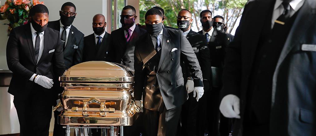 Συγκίνηση και οργή στην κηδεία του Τζορτζ Φλόιντ (εικόνες)