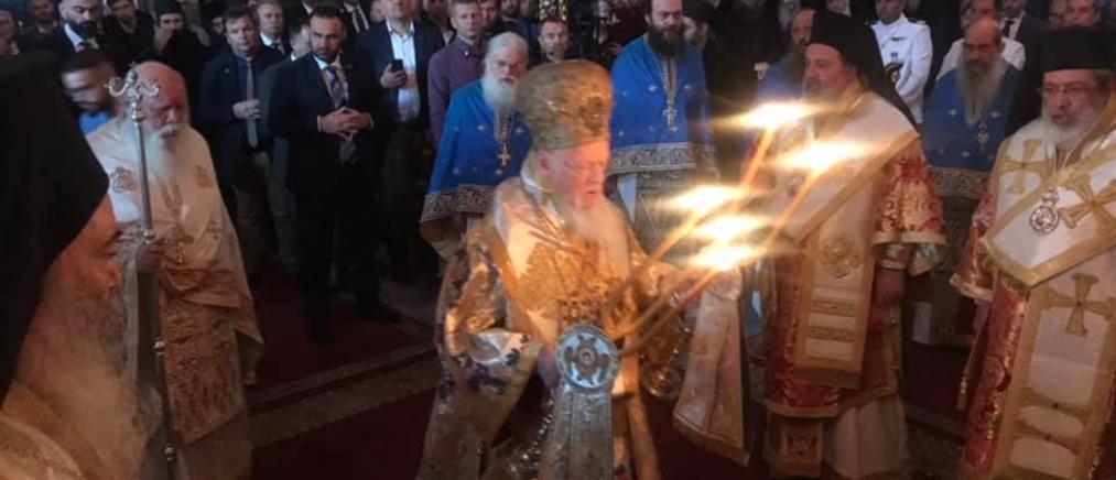 Βαρθολομαίος: Η υποκρισία η μεγαλύτερη πληγή του εκκλησιαστικού βιώματος