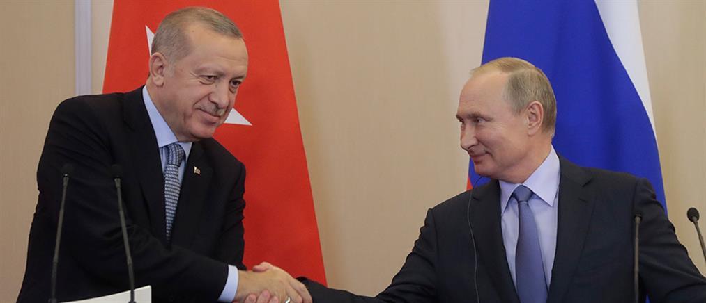 Νέα εκεχειρία στη Συρία αποφάσισαν Πούτιν – Ερντογάν