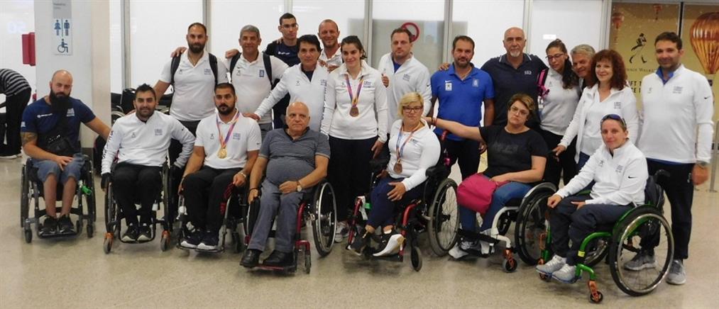 Με 8 μετάλλια επέστρεψε η Παραολυμπιακή Ομάδα από το Παγκόσμιο του Λονδίνου