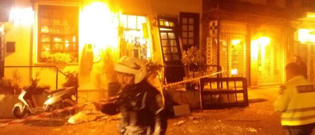 """""""Στάχτη"""" έγινε ταβέρνα μετά από ισχυρή έκρηξη"""
