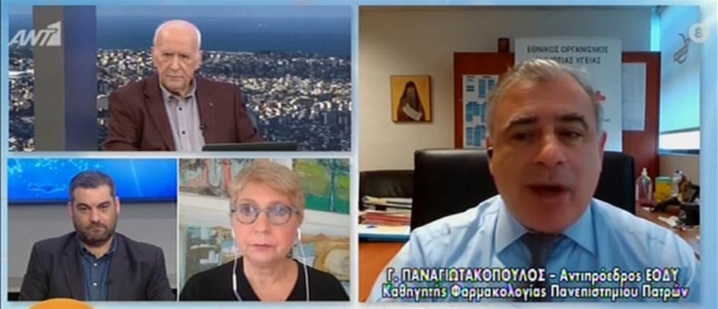 Κορονοϊός - Παναγιωτακόπουλος: στην Ελλάδα μπορούν να γίνουν έως 40000 τεστ την ημέρα (βίντεο)