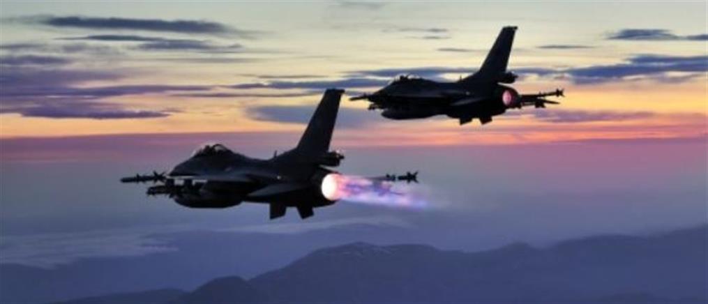 Μπαράζ τουρκικών παραβιάσεων και εικονικές αερομαχίες στο Αιγαίο