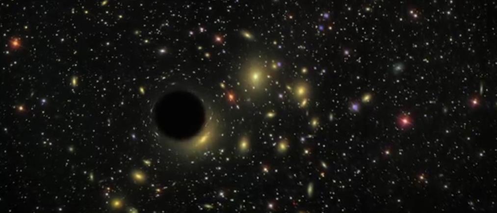 """Μαύρη τρύπα-γίγαντας """"καταπίνει"""" αστέρι (βίντεο)"""