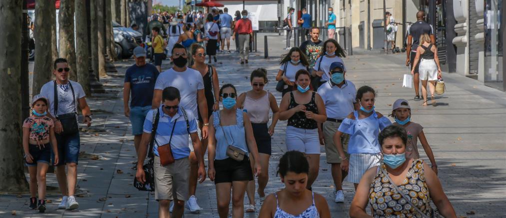 Κορονοϊός -  Γαλλία: Πάνω από το όριο των 10.000 τα νέα κρούσματα σε ένα 24ωρο