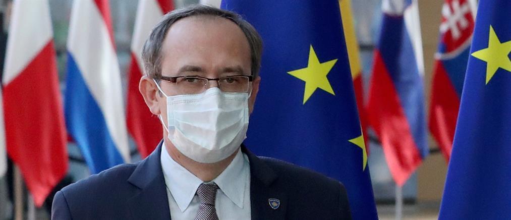 Κορονοϊός: θετικός στο ιό ο πρωθυπουργός του Κοσόβου