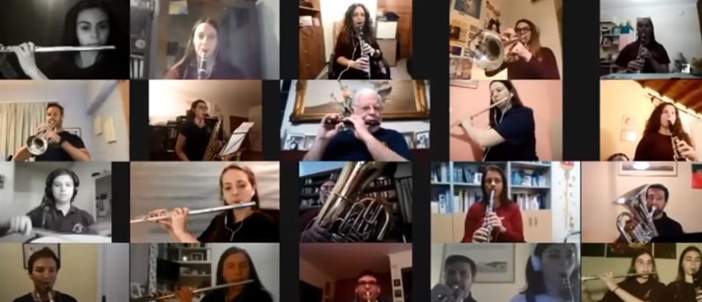Κυριακή των Βαΐων: Η ΦΕΚ ενώθηκε διαδικτυακά για την Λιτανεία του Αγίου Σπυρίδωνα (βίντεο)