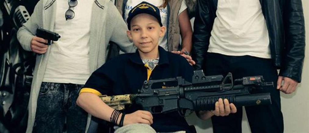 ΟΥΚας… ετών 13 – Το όνειρό του έγινε πραγματικότητα (φωτό)