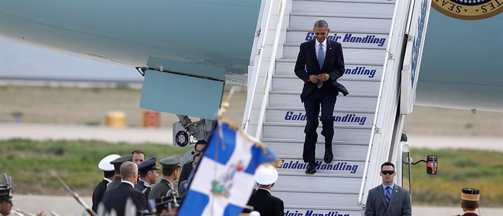 ΝΔ: ελπίζουμε να είναι χρήσιμη για την Ελλάδα η επίσκεψη Ομπάμα