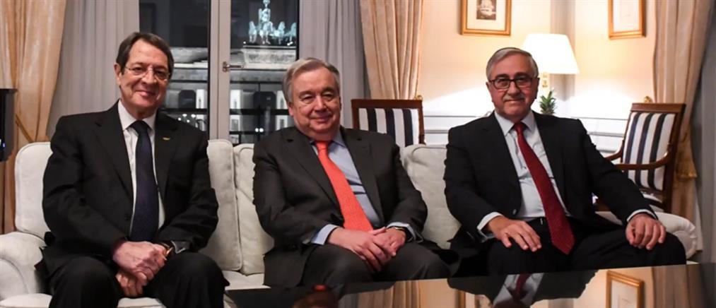 Αναστασιάδης: Θετικό βήμα για την επανέναρξη του διαλόγου η συνάντηση με Ακιντζί