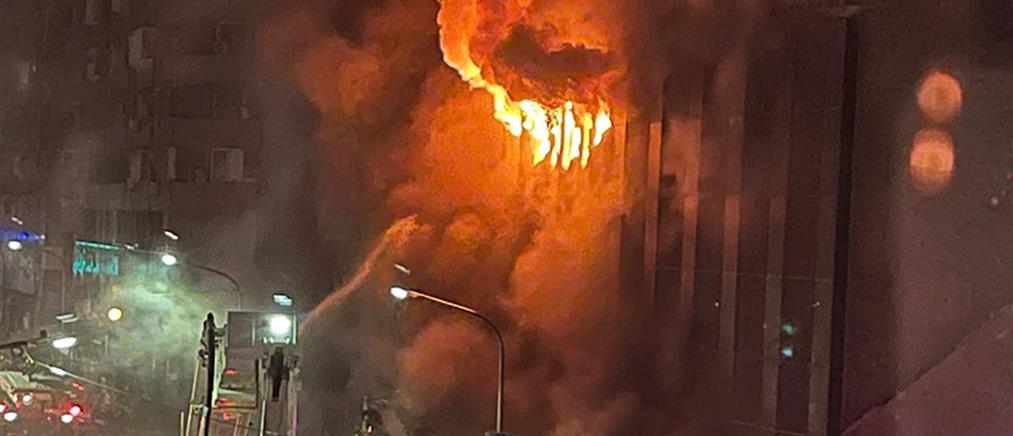 Ταϊβάν: δεκάδες νεκροί από φωτιά σε κτήριο (βίντεο)