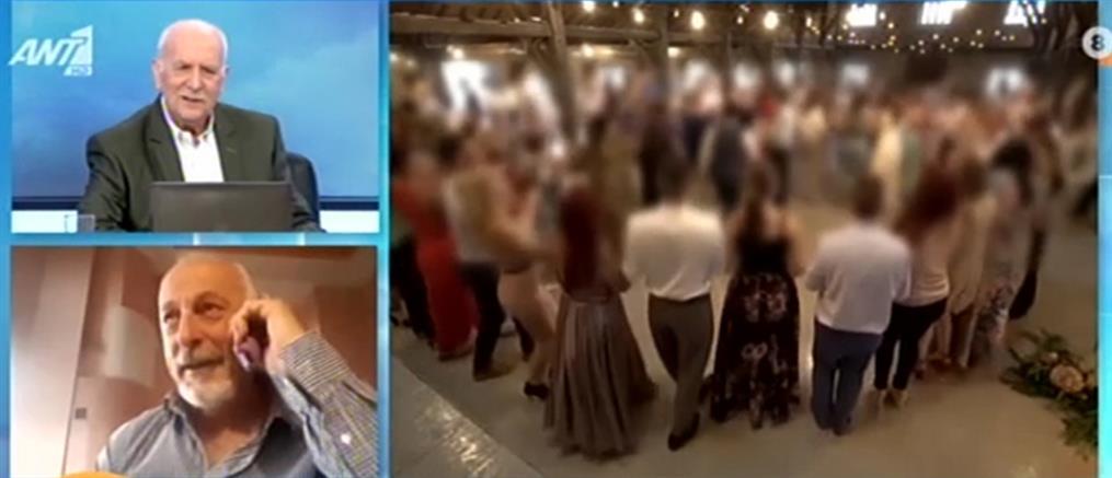 Κορονοϊός - Γάμος στη Νάουσα: Ο νονός της νύφης διαψεύδει ότι το ζευγάρι νοσούσε (βίντεο)