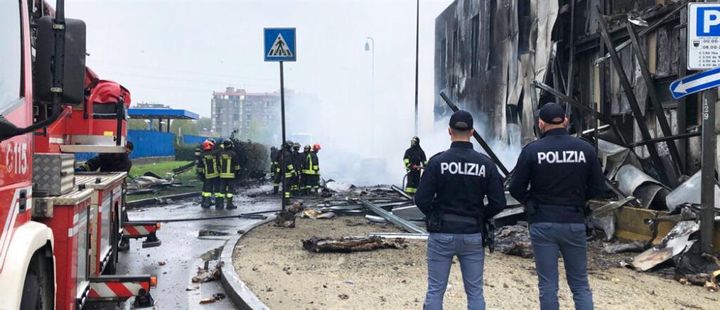 Μιλάνο: πτώση αεροσκάφους κοντά σε στάση του μετρό