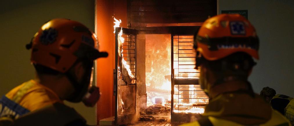 Χονγκ Κονγκ: επίθεση σε νοσοκομείο (εικόνες)