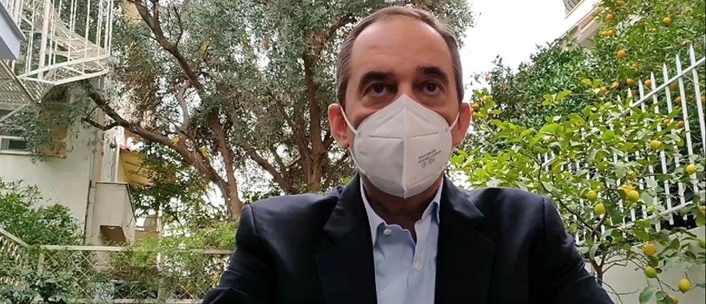 """Πλακιωτάκης: Το συγκινητικό μήνυμα για την """"μάχη"""" με τον κορονοϊό (βίντεο)"""