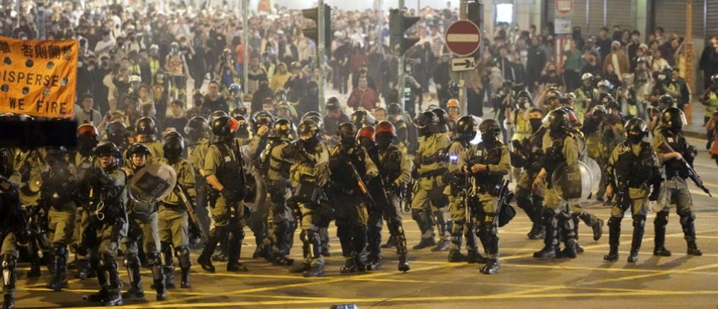 Επεισόδια σε αντικυβερνητικές διαδηλώσεις στο Χονγκ Κονγκ (εικόνες)