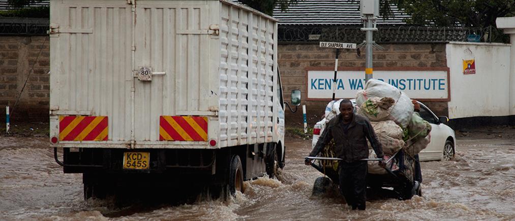 Εκατοντάδες νεκροί από τις σφοδρές βροχοπτώσεις στην Κένυα