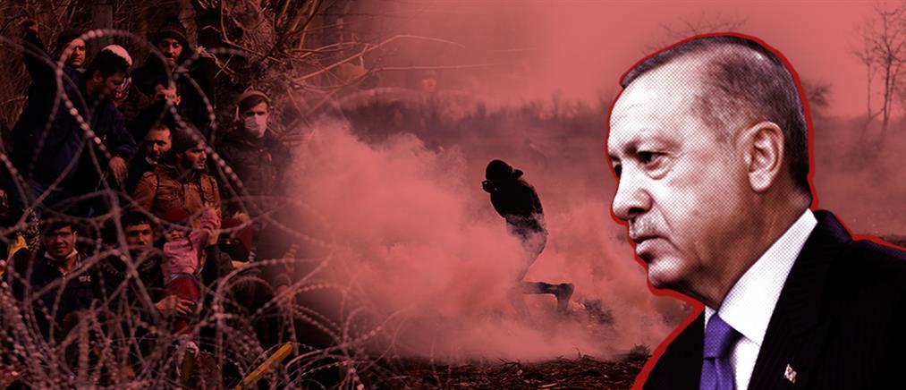 """Ερντογάν: """"Απάνθρωπες εικόνες"""" στα σύνορα στον Έβρο"""
