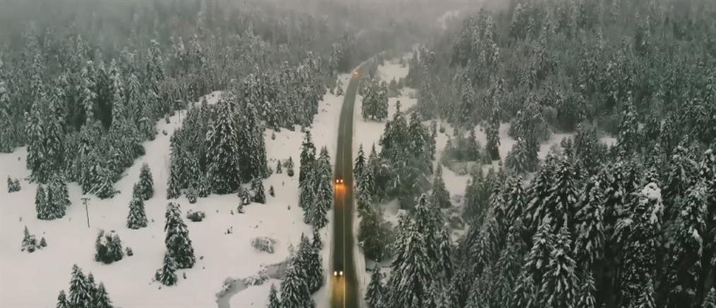 """Κακοκαιρία """"Λέανδρος"""": καταιγίδες, χιόνια και μποφόρ την Παρασκευή"""