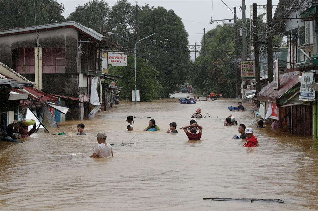 Φιλιππίνες - τυφώνας Vamco