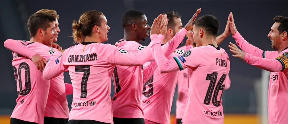 """Champions League: """"Ζάλισε"""" η Μπαρτσελόνα τη Γιουβέντους"""