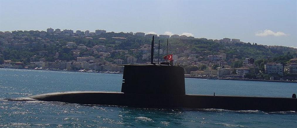 Στο λιμάνι της Κερύνειας αγκυροβόλησε το υποβρύχιο Gur S-357