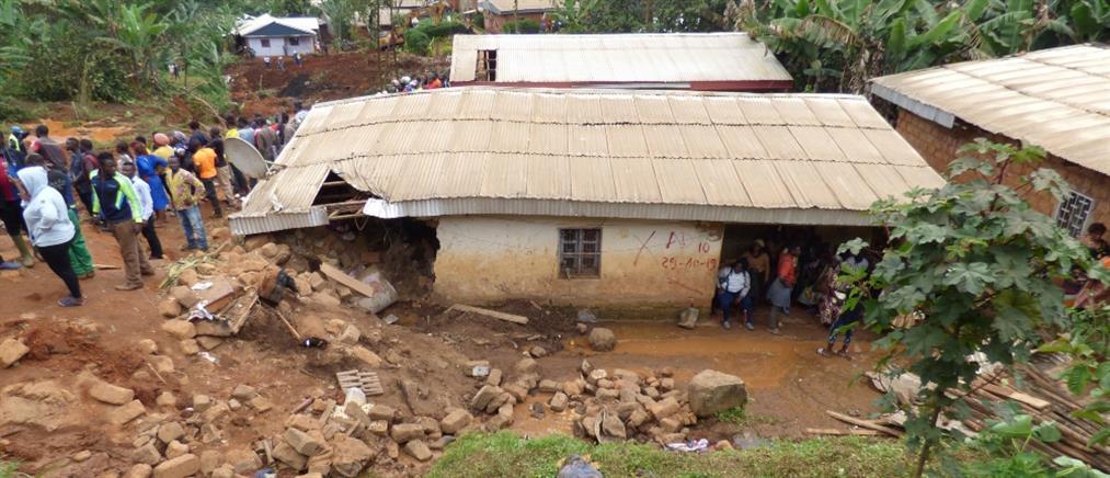 Δεκάδες νεκροί από κατολίσθηση στο Καμερούν (βίντεο)