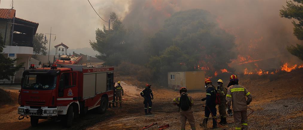 Φωτιές: Νέα έκτακτη χρηματοδότηση σε πληγέντες Δήμους και Περιφέρειες
