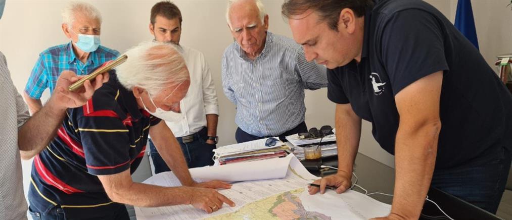 Φωτιές σε Εύβοια και Βαρυμπόμπη: Ξεκίνησαν τα αντιπλημμυρικά έργα