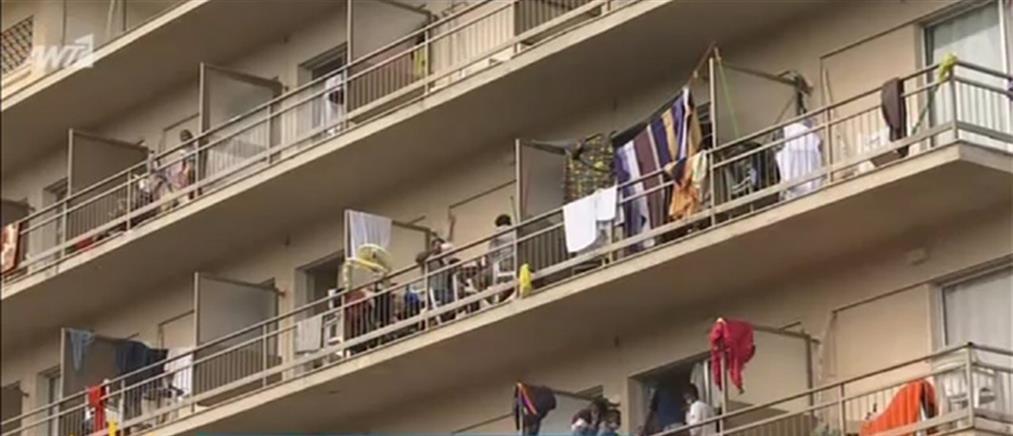 Κορονοϊός - Κρανίδι: Ανησυχία μετά το νέο κρούσμα στην δομή φιλοξενίας (βίντεο)
