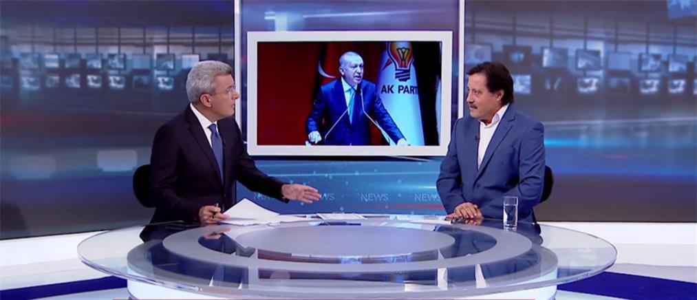 Καλεντερίδης στον ΑΝΤ1: ο Ερντογάν κλιμακώνει τις προκλήσεις στην Αν. Μεσόγειο (βίντεο)