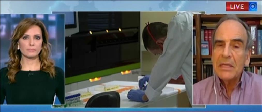 Ο Αναστάσιος Σπαντιδέας στον ΑΝΤ1 για το νέο φάρμακο κατά του κορονοϊού (βίντεο)