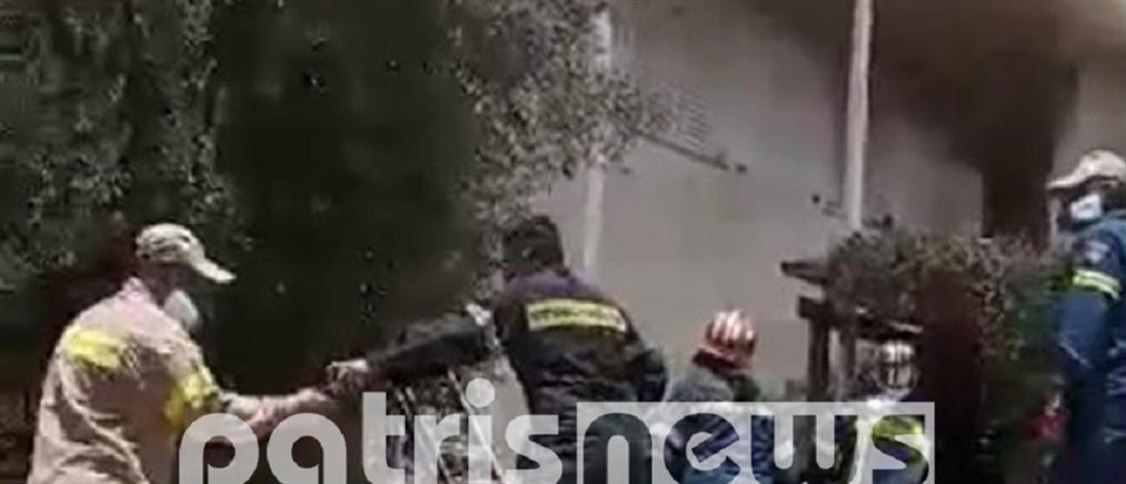 Τραγωδία: νεκρός από φωτιά σε μονοκατοικία