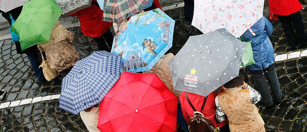 Καιρός: βροχές και σποραδικές καταιγίδες την Πέμπτη
