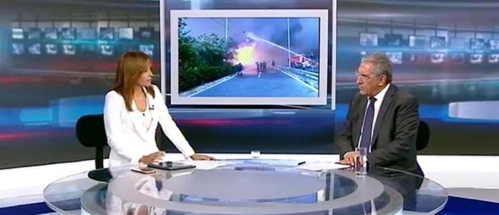 Καπερνάρος στον ΑΝΤ1: να δικαστούν για ανθρωποκτονία από πρόθεση οι υπαίτιοι της τραγωδίας στο Μάτι (βίντεο)