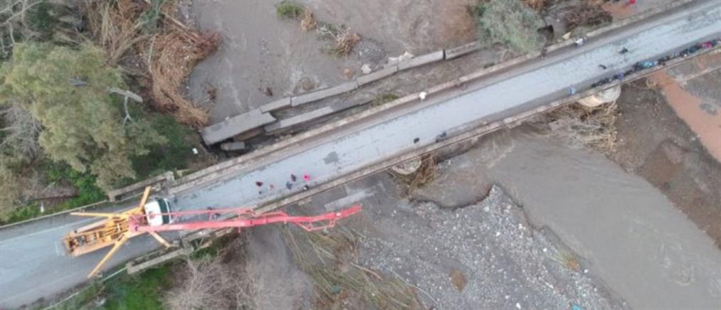 Τεράστιες καταστροφές στα Χανιά από την κακοκαιρία (εικόνες)