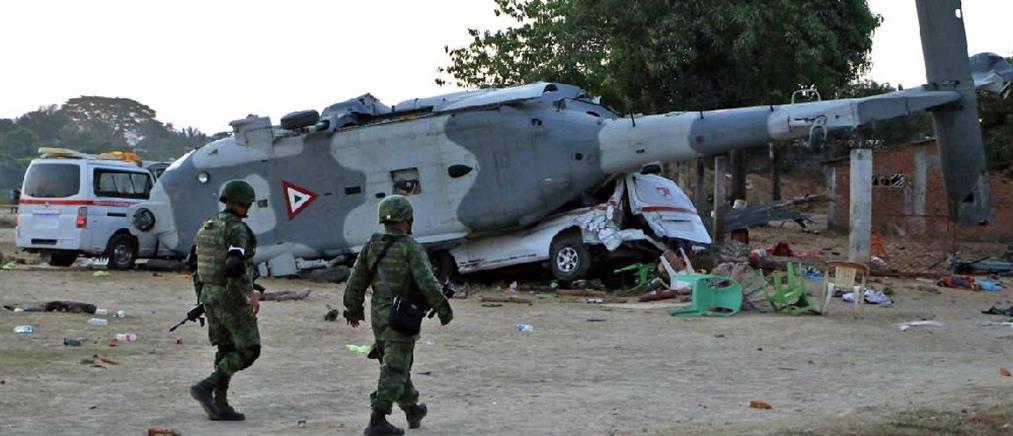 Συνετρίβη στρατιωτικό ελικόπτερο στο Μεξικό