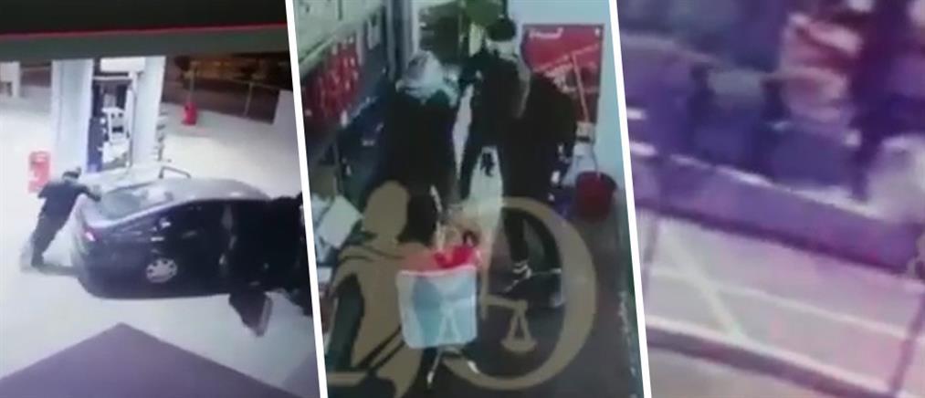 Βίντεο ντοκουμέντο: ληστές εισβάλουν σε καταστήματα και βενζινάδικα