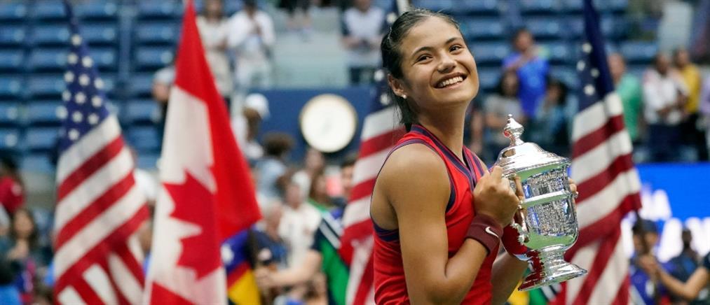 US Open: Η Ραντουκάνου κατέκτησε το τρόπαιο