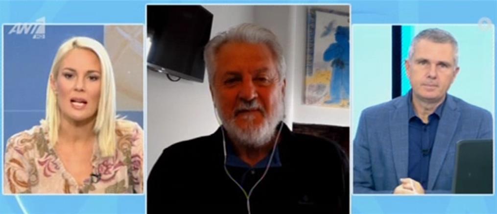 Καπραβέλος για κορονοϊό: δέχομαι απειλές για τη ζωή μου από αρνητές (βίντεο)