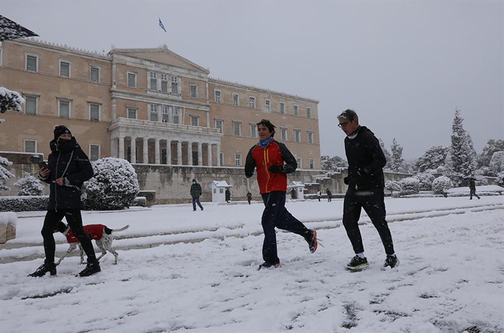 Χιόνια - Αθήνα