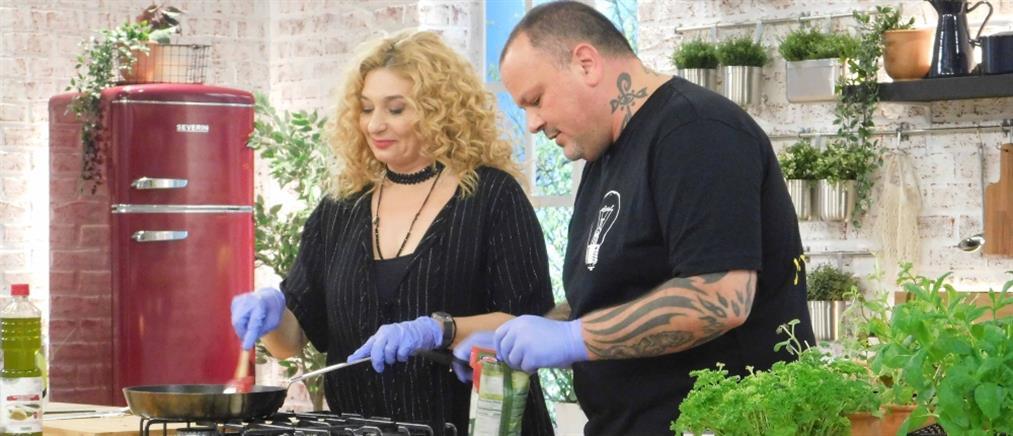 """Food N' Friends"": η Φαίδρα Δρούκα και η διπλή μαγειρική πρόκληση (εικόνες)"