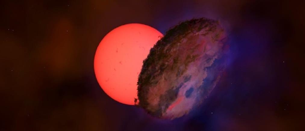 """Γιγάντιο άστρο που """"αναβοσβήνει"""" ανακαλύφθηκε κοντά στο κέντρο του γαλαξία μας"""