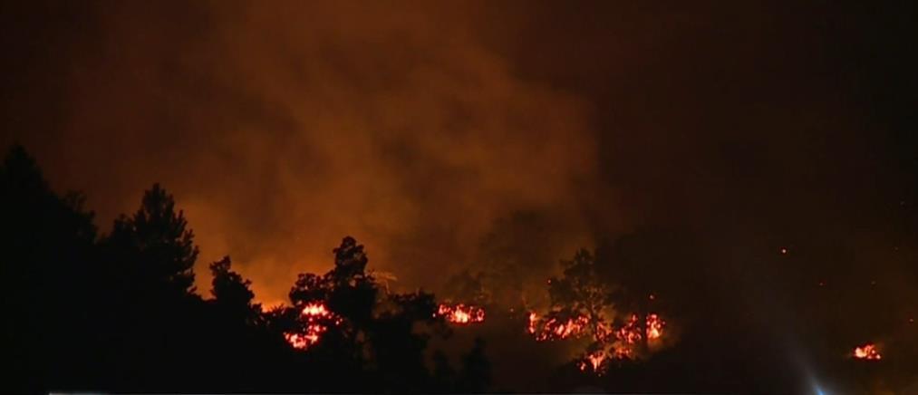 Φωτιά στα Γρεβενά: Εκκενώθηκαν 6 οικισμοί