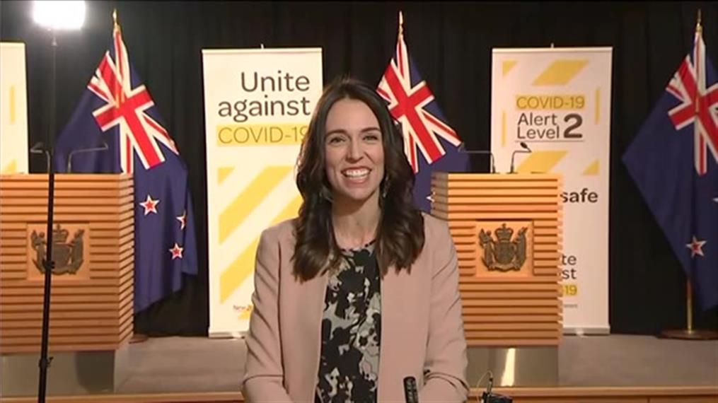 Ατάραχη η Πρωθυπουργός της Νέας Ζηλανδίας την ώρα του σεισμού