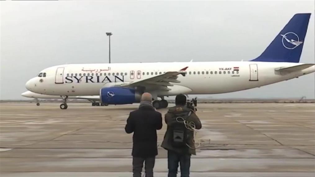 Πρώτη πτήση στο Χαλέπι μετά από οκτώ χρόνια