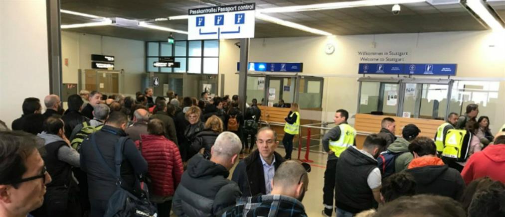 """""""Παγιώνονται"""" οι έλεγχοι Ελλήνων στα γερμανικά αεροδρόμια"""
