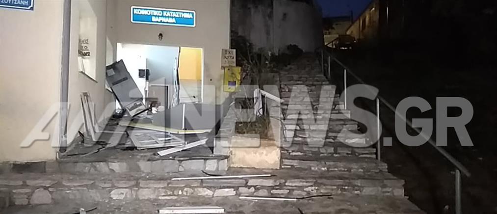 """""""Ισοπεδώθηκε"""" κοινοτικό κατάστημα από έκρηξη (βίντεο)"""