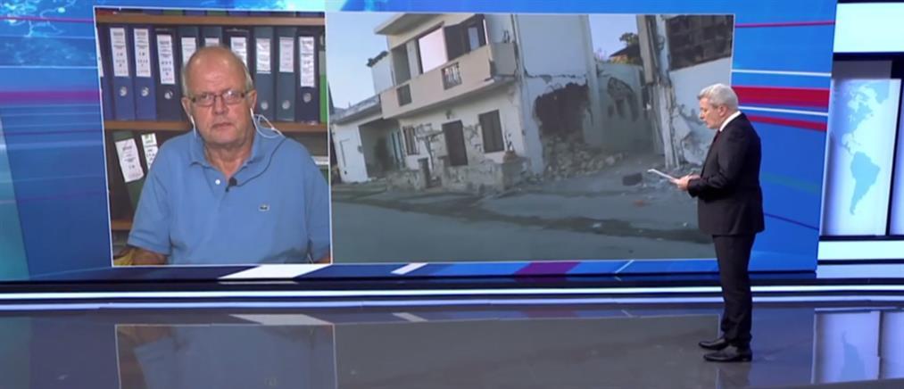 Τσελέντης: ο σεισμός στην Κρήτη είχε επιτάχυνση σχεδόν 1G